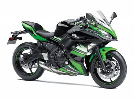 New 2017 Ninja 650L KRT Edition