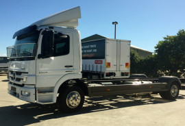 Mercedes-Benz Atego 1229 RIGID SLEEPER