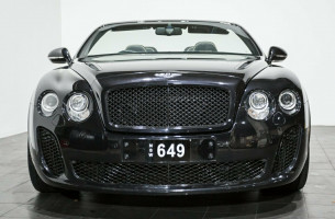 2011 Bentley Continental 3W MY11 Supersports Convertible