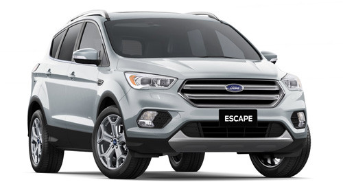 2016 MY17 Ford Escape ZG Titanium AWD Wagon