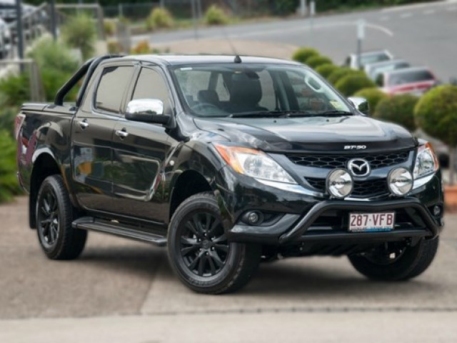 2014 Mazda Bt 50 B32q 4x4 Dual Cab Utility Gt Cab Chassis For Sale In Brisbane Toowong Mazda