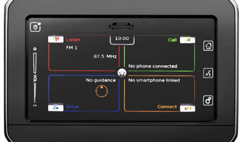 Ignis Touchscreen Audio System with Apple CarPlay