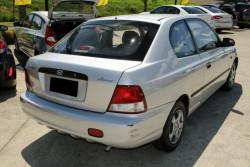 2001 Hyundai Accent LC GL Hatchback
