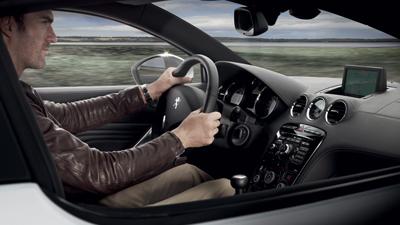 RCZ Coupe Interior Comfort