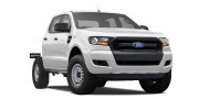 New 4x4 XL Double Cab Chassis 2.2L
