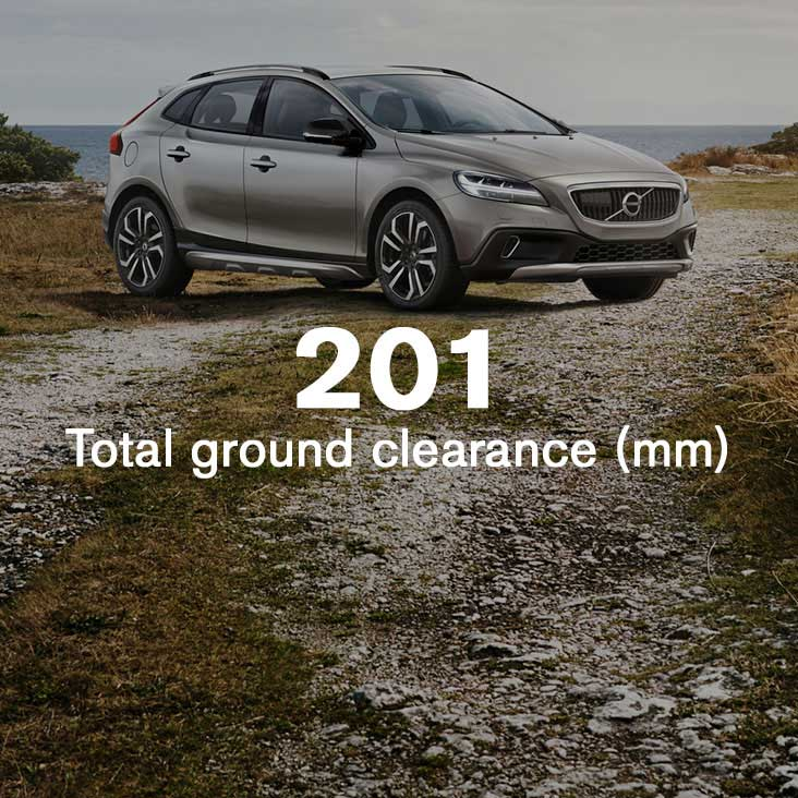 V40 Cross Country Uplifting experience