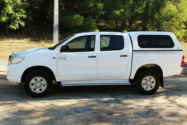 2013 MY14 Toyota Hilux KUN26R MY14 SR Double Cab Utility
