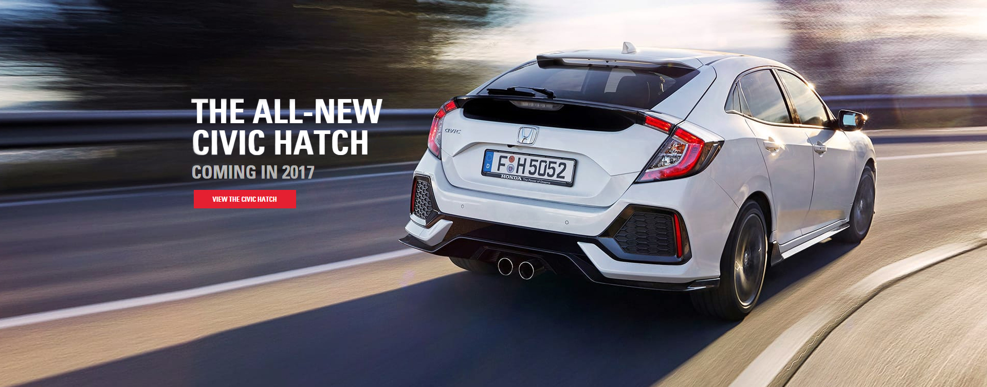 The all-new 2017 Civic Hatch coming soon to Northside Honda Brisbane.