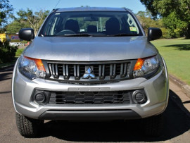2017 Mitsubishi Triton MQ GLX Plus Double Cab Pick Up 4WD Utility