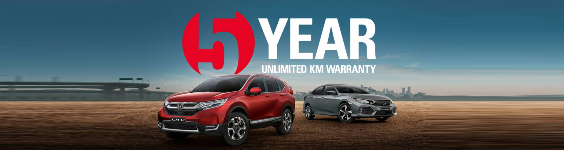 Hunter Honda announces upgraded warranty across all new cars