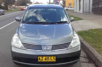 2008 Nissan Tiida C11 MY07 Sedan
