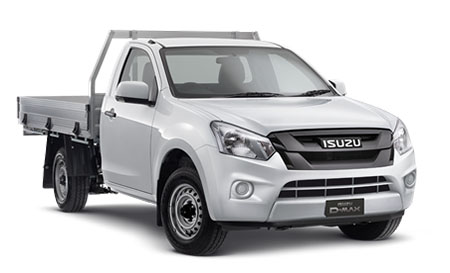 2016 MY17 Isuzu Ute D-MAX 4x2 SX Single Cab Chassis Low-Ride Single cab