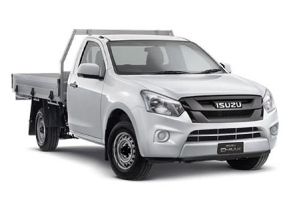 Isuzu UTE D-MAX 4x2 SX Single Cab Chassis Low-Ride