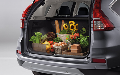 CR-V Extra space comes standard