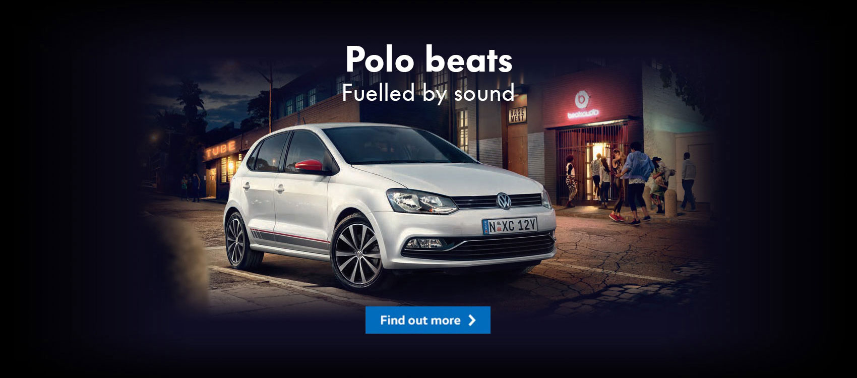 Volkswagen Polo Beats, fuelled by sound. See NMG VW, your local Brisbane dealer.