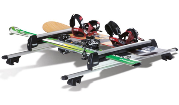 Carry bars accessory - ski/snowboard carrier