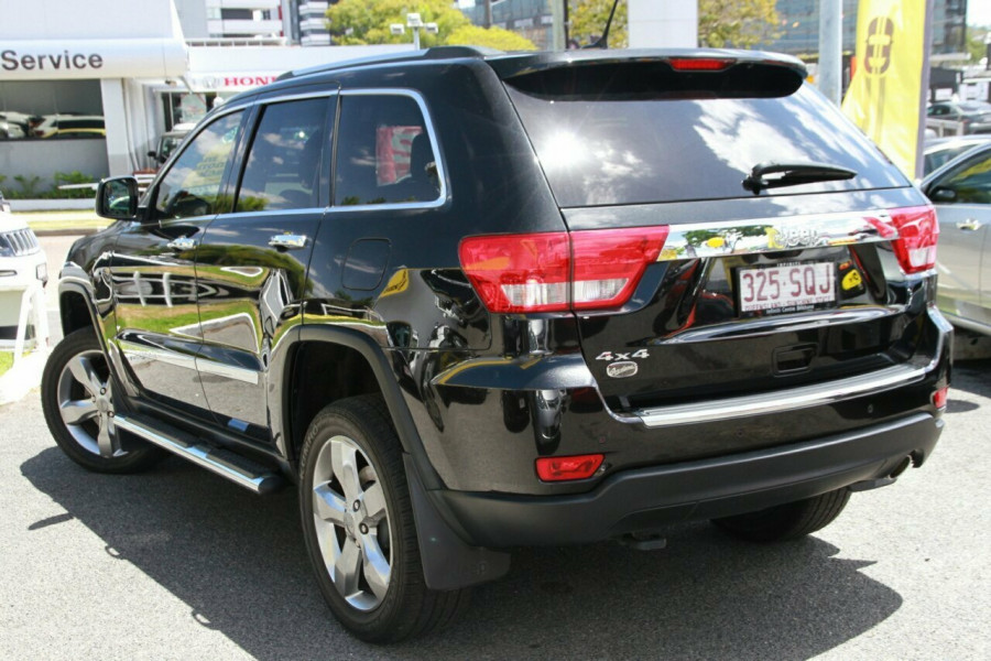 2012 my13 jeep grand cherokee wk my2013 overland wagon for sale in brisbane southside honda. Black Bedroom Furniture Sets. Home Design Ideas