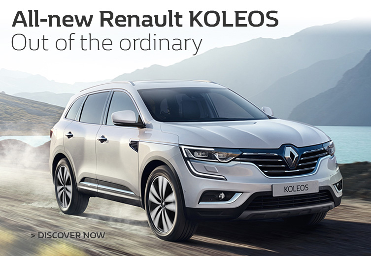 All-new Renault Koleos available now at Metro Renault Brisbane.