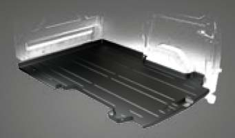 Transit Custom Sealed loadfloor liner with tie downs