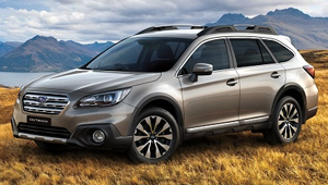 Outback Bold Exterior Styling
