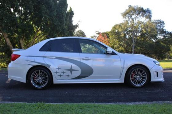 2013 Subaru Impreza G3  WRX Sedan