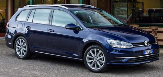 New Golf Wagon New styling