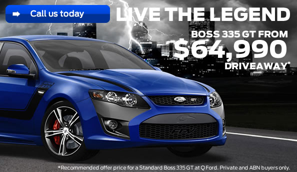 Visit your Q Ford Dealer for great savings on Ford Performance Vehicles