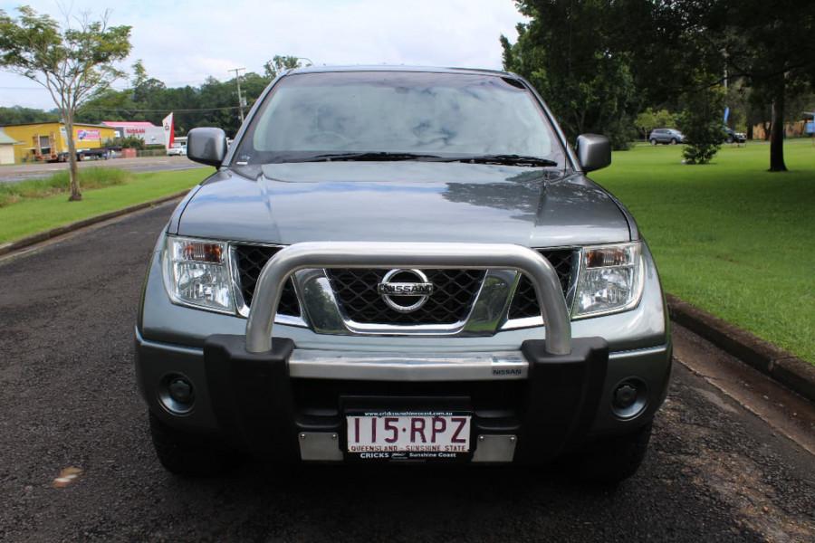 2011 Nissan Navara D40 ST Utility