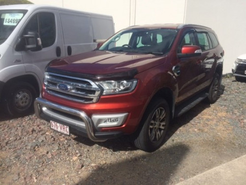 2015 Ford Everest UA Trend Wagon