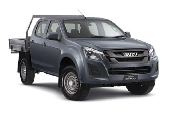 Isuzu UTE D-MAX 4x4 SX Crew Cab Chassis MY17