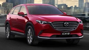 CX-9 Arrive In Style
