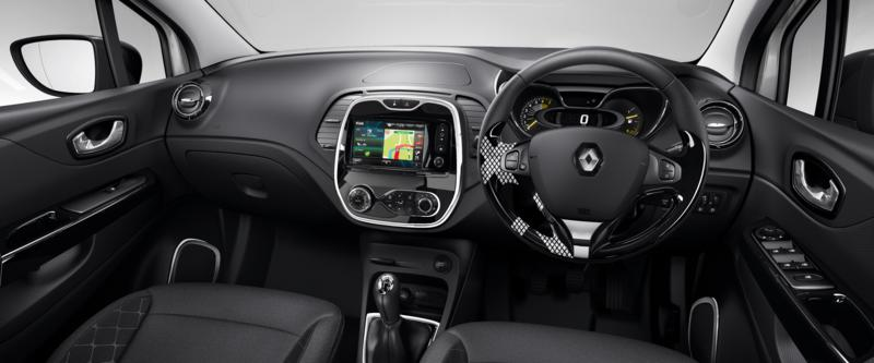 Captur Customisable Interior