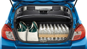 Celerio Luggage Space and Seat Flexibility