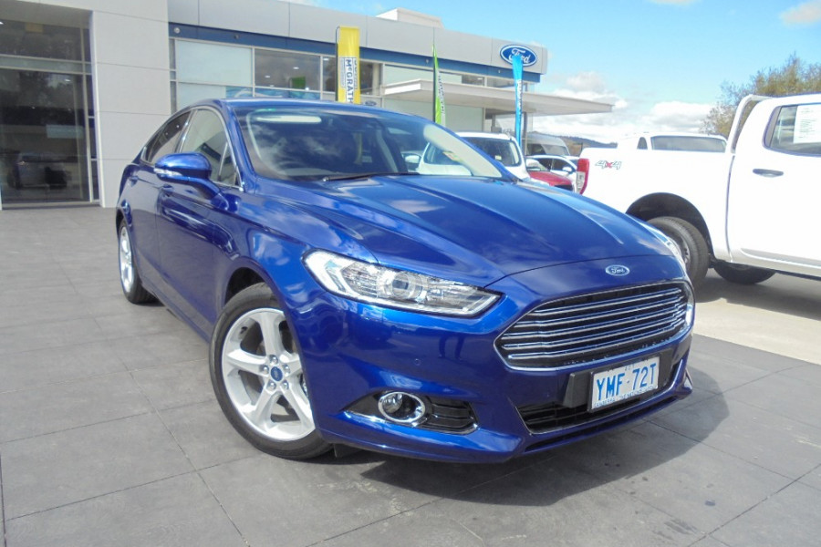 2017 MY17.5 Ford Mondeo MD Trend Hatch Hatch