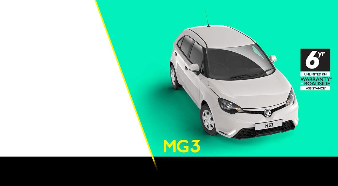 MG3 Make it your MG3