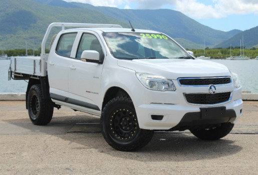 2012 Holden Colorado RG MY13 LX DUAL CAB Cab chassis