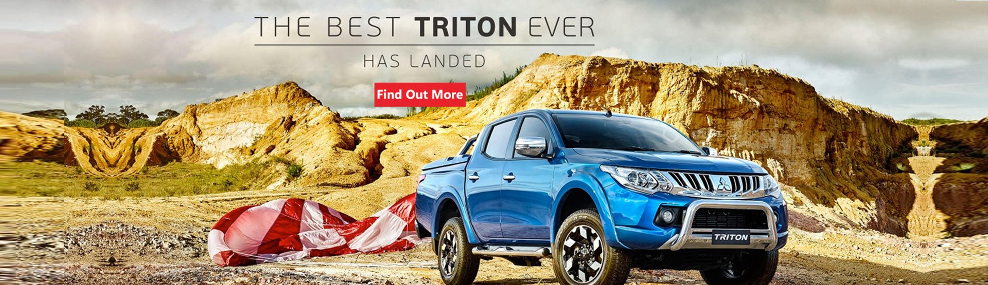 The best Triton ever has landed at Nundah Mitsubishi Brisbane. Find out more today.