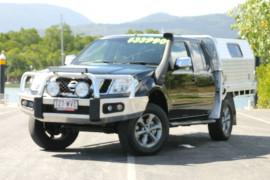 2011 MY Nissan Navara D40 S5 MY12 ST-X Utility