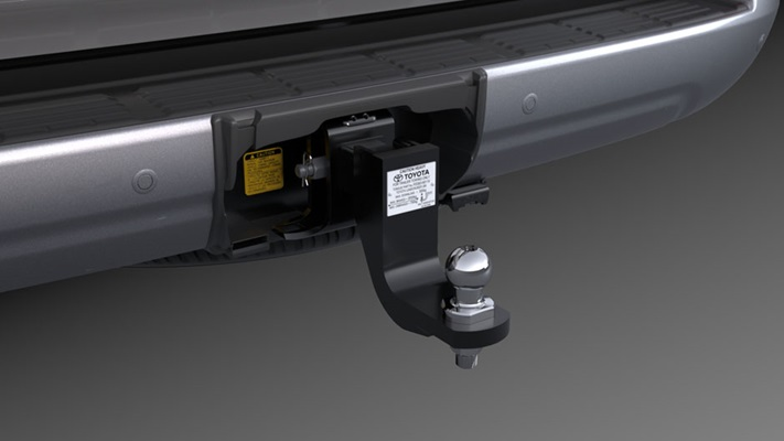 "<img src=""Towbar Tongue with Towball and Trailer Wiring Harness (sold separately)"