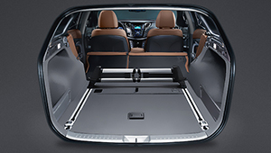 i40 Tourer 60:40 Split folding rear seats