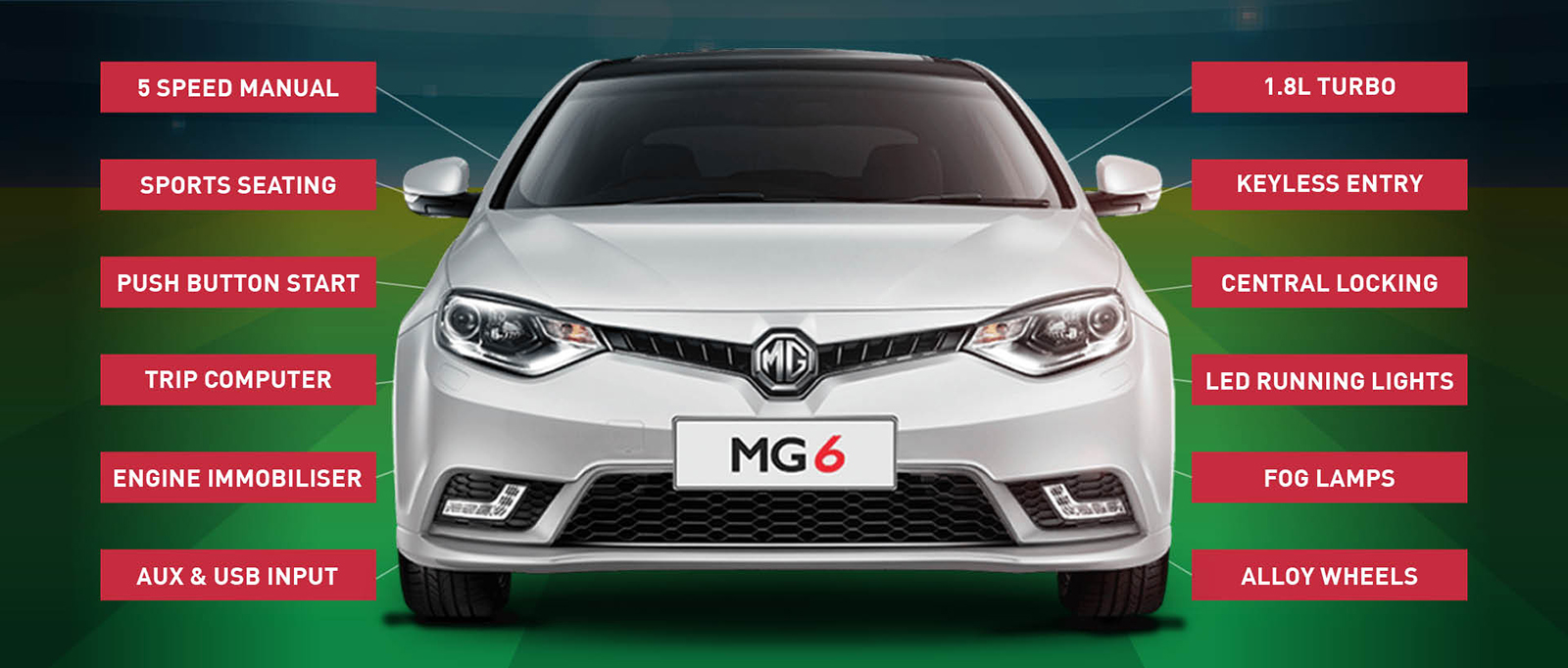 With all of the features of a luxury car, test drive an MG MG6 sedan today at Norris Used Cars Brisbane.