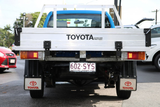 2013 Toyota HiLux TGN16R MY12 WORKMATE Utility