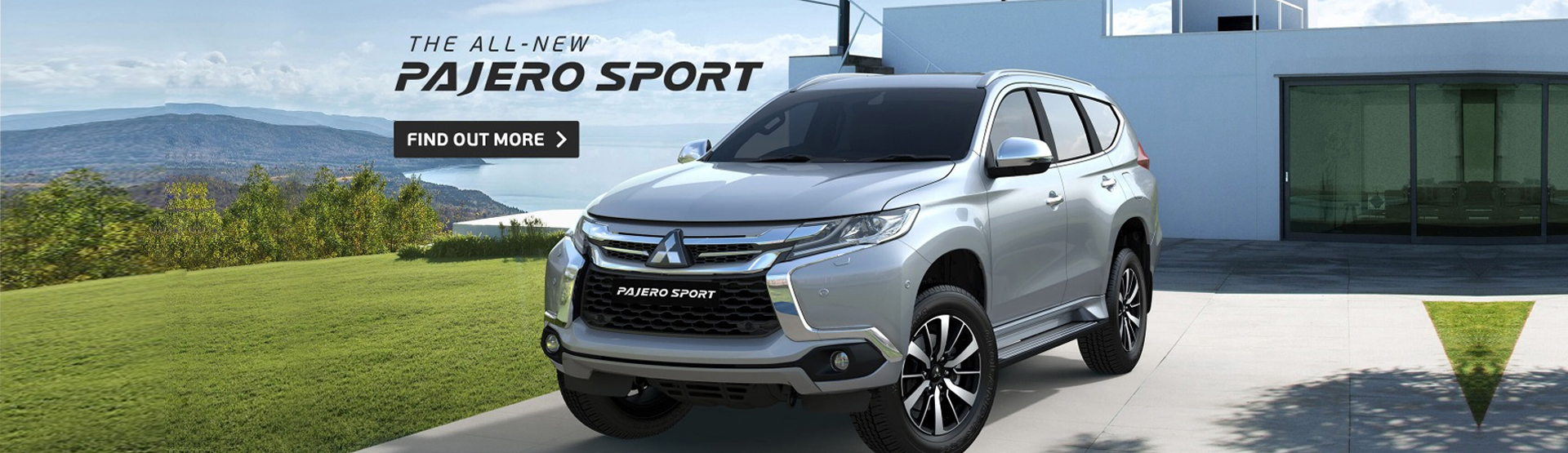 The all-new Pajero Sport, find out more at Nundah Mitsubishi Brisbane today.