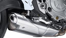 Z650L Under-engine muffler