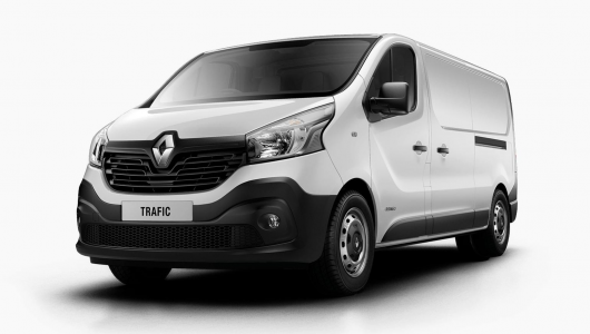 Renault TRAFIC LWB Twin Turbo 85 - 2017 Plate