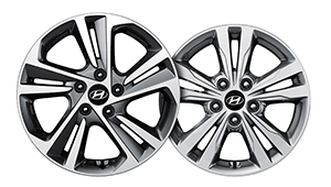 Elantra A clean set of wheels