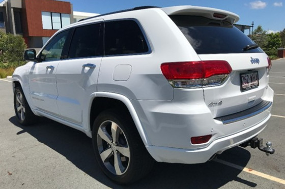 2015 MY Jeep Grand Cherokee WK Overland Wagon