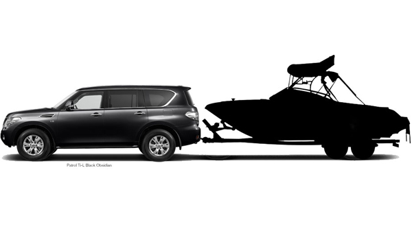We've placed enormous weight on its ability to tow.