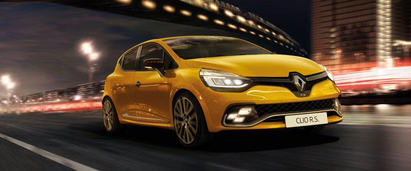 Clio R.S. 0-100 km/h in 6.7 seconds