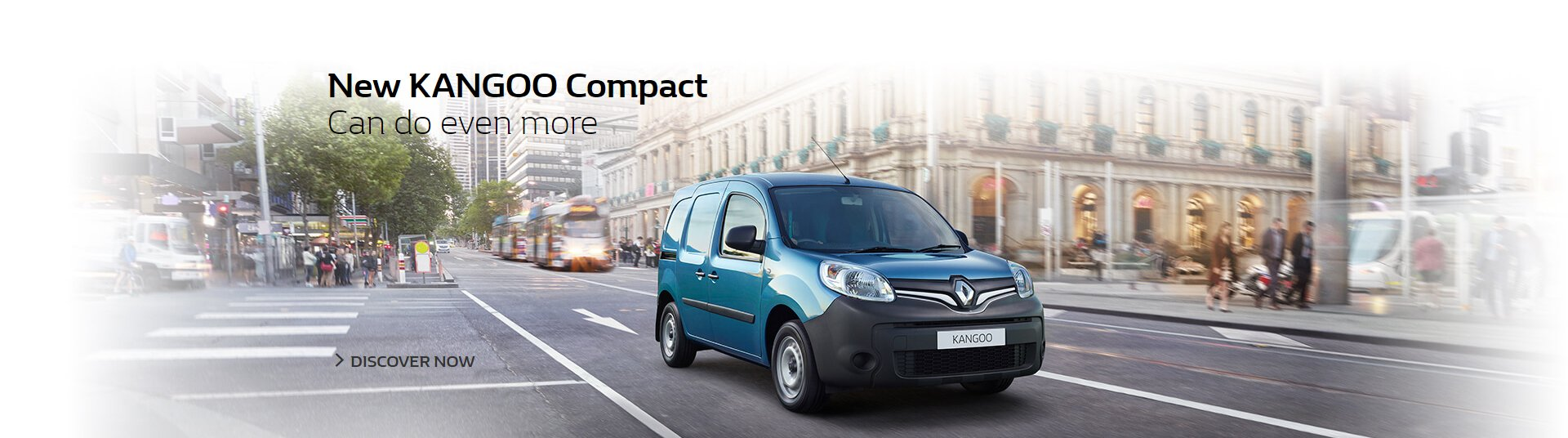 New Renault Kangoo Compact can do even more, available at Metro Renault Brisbane.